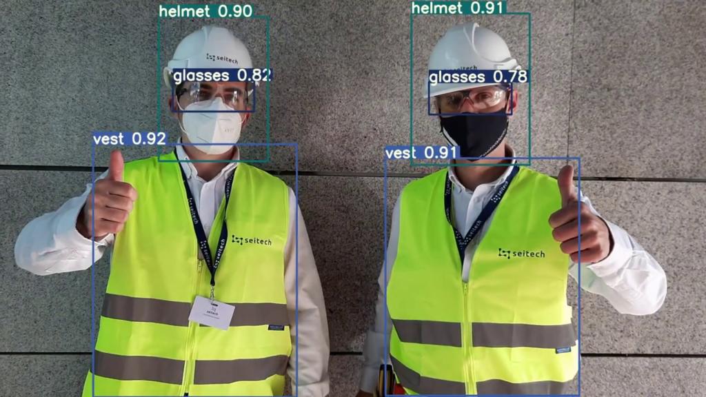 Detección de EPIS con tecnología en field service operations